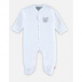 Dors-bien Coton bio blanc - 12 mois - Noukies T140136